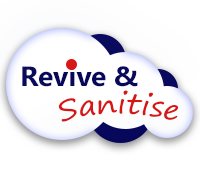Revive and Sanitise Logo image